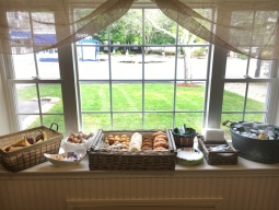 Enjoy our complimentary breakfast