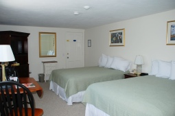 Standard room with 2 double beds