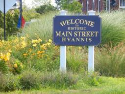 Shopping & Restaurants on Main St Hyannis